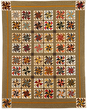As The Wind Blows quilt by Norma Whaley