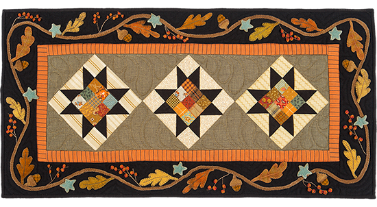 Autumn Splendor quilt pattern by Norma Whaley