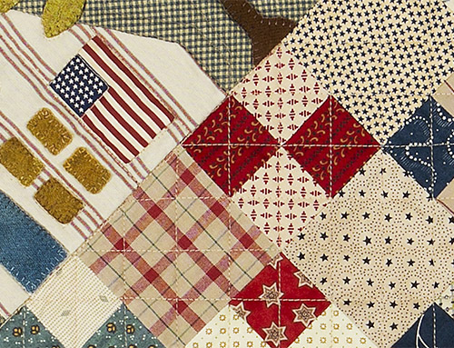 Flag Day Quilt by Norma Whaley