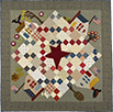 Flag Day quilt pattern by Norma Whaley