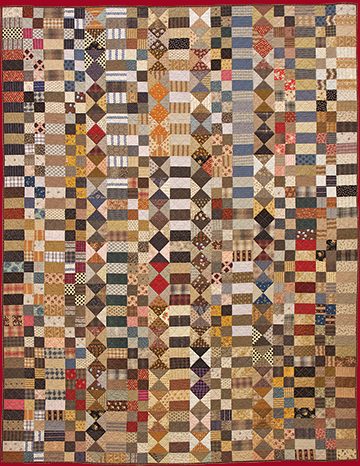 Fragments Of Cloth patchwork quilt pattern by Norma Whaley