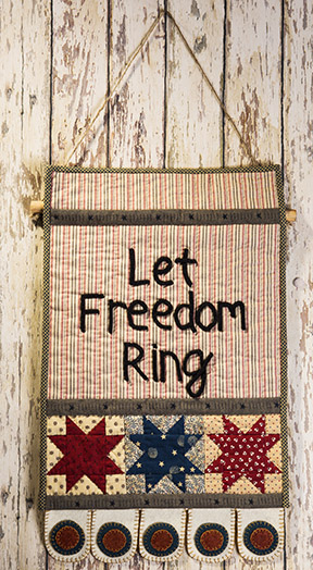Let Freedom Ring Quilt by Norma Whaley