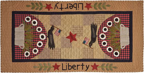 Liberty applique quilt pattern by Norma Whaley