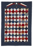 Liberty Steps Quilt Pattern by Norma Whaley