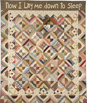 Now I Lay Me Down To Sleep Quilt by Norma Whaley