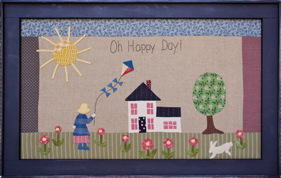 Oh Happy Day applique project