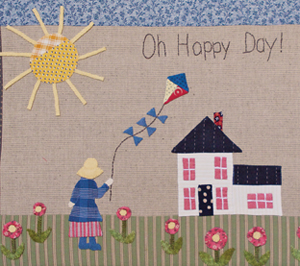 Oh Happy Day framed picture