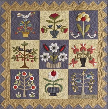 Pick Your Flowers quilt photo