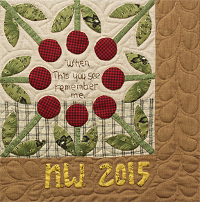 Remember Me quilt pattern by Norma Whaley