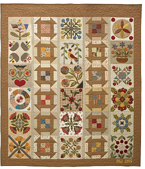 Remember Me quilt by Norma Whaley