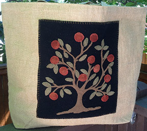 Shaker Tree Bag by Norma Whaley