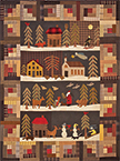 Silent Night applique quilt pattern by Norma Whaley