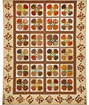 Square Dancing with Flowers quilt pattern by Norma Whaley