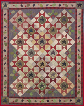 Stars and Holly Berries