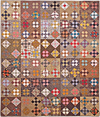 Storyteller patchwork quilt pattern by Norma Whaley
