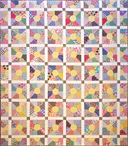 Summer Days patchwork quilt pattern by Norma Whaley