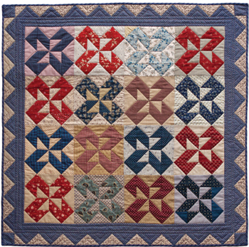 The Parlor Table quilt photo