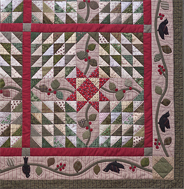 Christmas In The Village Green quilt pattern by Norma Whaley