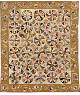 Virginia Reel Quilt by Norma Whaley