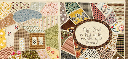 Wandering Ways Quilt by Norma Whaley