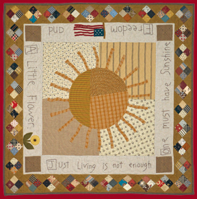 We All Need A Little Sunshine  quilt by Norma Whaley