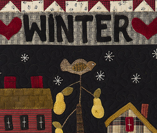 Winter Banner by Norma Whaley