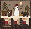 Woodland Visitors quilt pattern by Norma Whaley