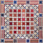 Yes We Can, America! patchwork quilt pattern by Norma Whaley