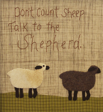 Counting Sheep Applique Quilt Picture Timeless Traditions Quilts