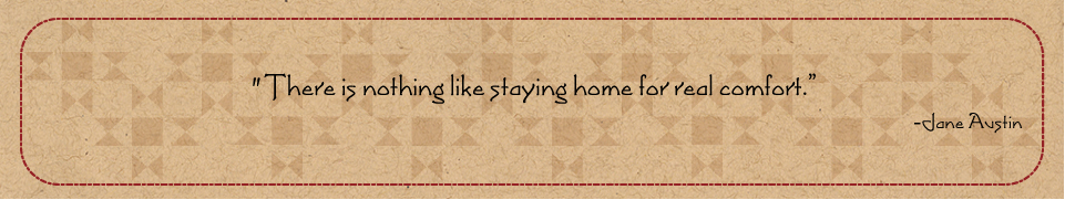 Comfort of Home quote