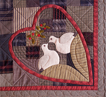 Love Birds by Norma Whaley